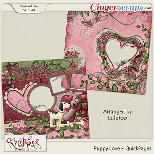 Puppy Love QuickPages