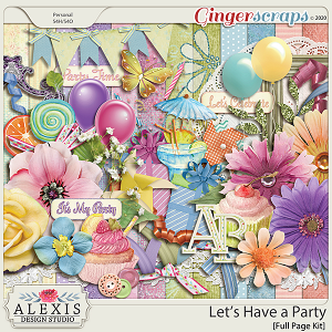 Let's Have a Party - Kit (Limited Edition)
