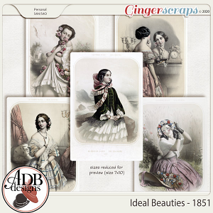 Heritage Resource Ideal Beauties 1851 by ADB Designs