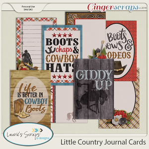 Little Country Journal Cards