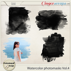Watercolor photomasks Vol.4