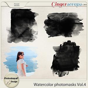 Watercolor photomasks Vol.4