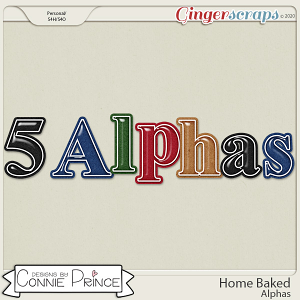 Home Baked - Alpha Pack AddOn by Connie Prince
