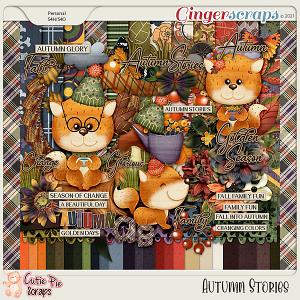 Autumn Stories Page Kit