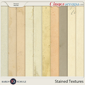 Stained Textures 01 by Karen Schulz