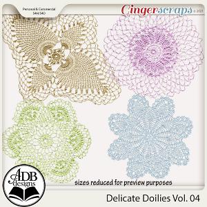 Delicate Doilies Vol 04 by ADB Designs