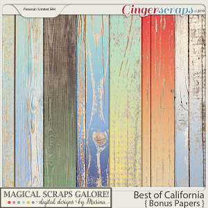 Best of California (bonus papers)