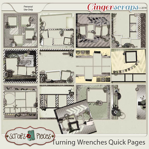 Turning Wrenches Quick Pages by Scraps N Pieces
