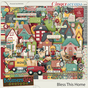 Bless This Home by BoomersGirl Designs