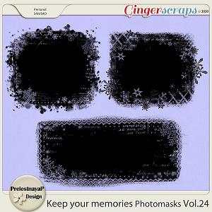 Keep your memories Photomasks Vol.24
