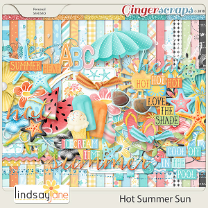 Hot Summer Sun by Lindsay Jane