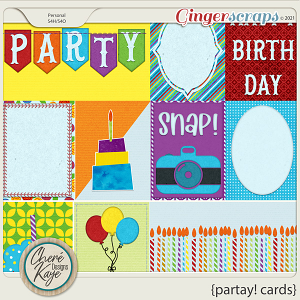 Partay! Cards by Chere Kaye Designs
