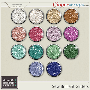 Sew Brilliant Glitters by Aimee Harrison