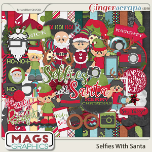 Selfies With Santa KIT by MagsGraphics