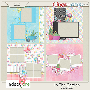 In The Garden Quick Pages by Lindsay Jane