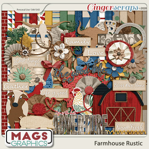 Farmhouse Rustic KIT by MagsGraphics