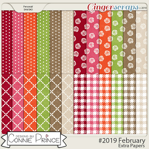 #2019 February - Extra Papers by Connie Prince