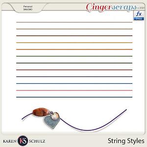 String Styles byKaren Schulz