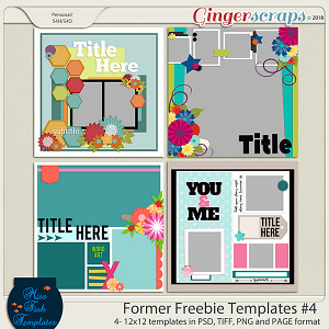 Former Freebies Templates #4 by Miss Fish Templates