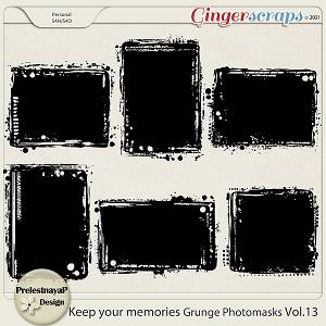 Keep your memories Grunge Photomasks Vol.13