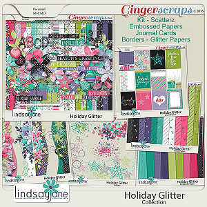 Holiday Glitter Collection by Lindsay Jane