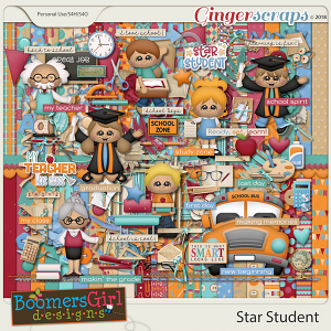 Star Student by BoomersGirl Designs