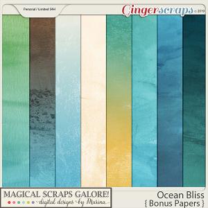 Ocean Bliss (bonus papers)
