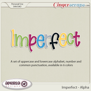 Imperfect - Alpha by Aprilisa Designs
