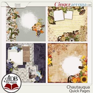 Chautauqua Quick Pages by ADB Designs