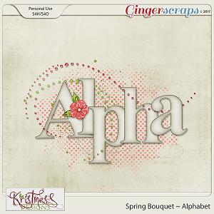 Spring Bouquet Alphabet
