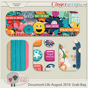 Document Life August 2018 Grab Bag by Luv Ewe Designs