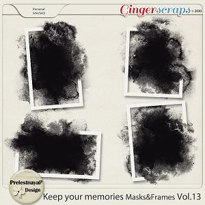 Keep your memories Masks&Frames Vol.13