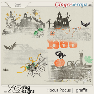Hocus Pocus: Graffiti by LDrag Designs