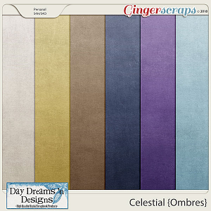 Celestial {Ombre Papers} by Day Dreams 'n Designs