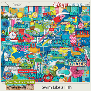 Swim Like a Fish by Clever Monkey Graphics