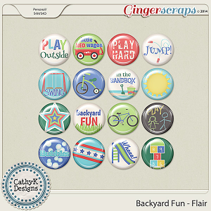 Backyard Fun - Flair