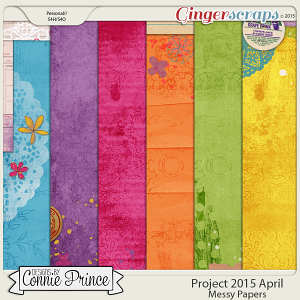 Project 2015 April - Messy Paper Pack