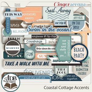 Coastal Cottage Accents by ADB Designs