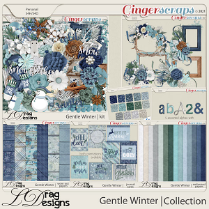 Gentle Winter: The Collection by LDragDesigns