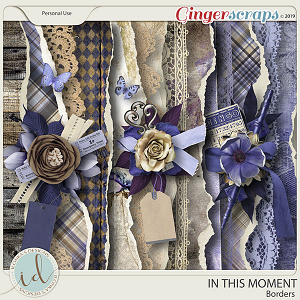 In This Moment Borders by Ilonka's Designs