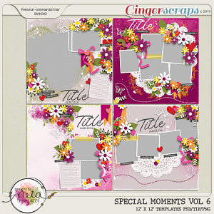 Special Moments- VOL.06 - Templates - by Neia Scraps