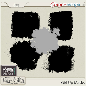 Girl Up Masks by Aimee Harrison and Tami Miller