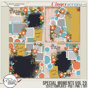 Special Moments- VOL.20 - Templates - by Neia Scraps
