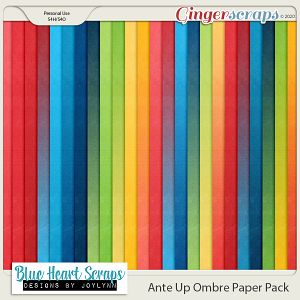 Ante Up Ombre Paper Pack