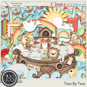Two By Two Digital Scrapbook Kit