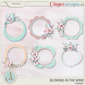Blowing In The Wind Clusters by Ilonka's Designs