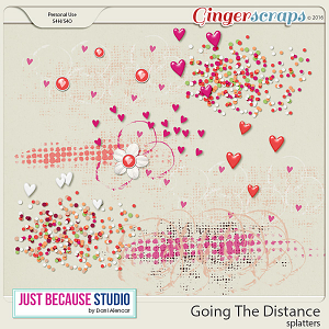 Going The Distance Splatters by JB Studio
