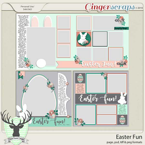 Easter Fun Templates by Dear Friends Designs
