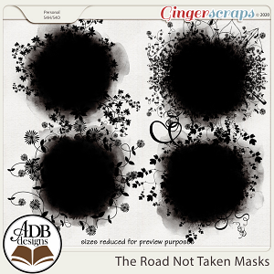 The Road Not Taken Masks by ADB Designs