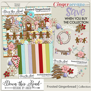 Frosted Gingerbread   Collection